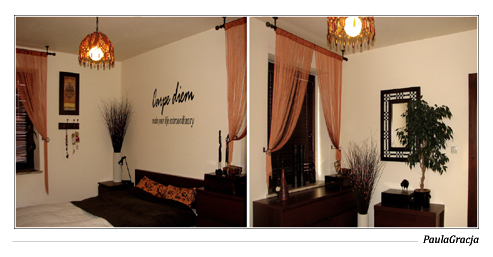 Sypialnia w domu jednorodzinnym w Oławie